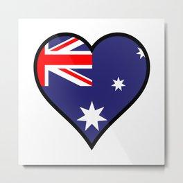 Love Australia Metal Print