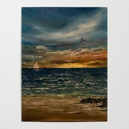 Oil  Painting Poster