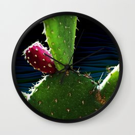 Cactus Needs A Hug Wall Clock