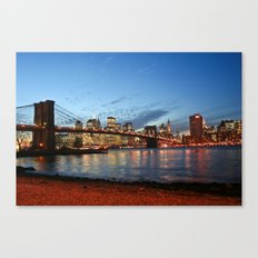 I Want To Be A Part Of It... Canvas Print