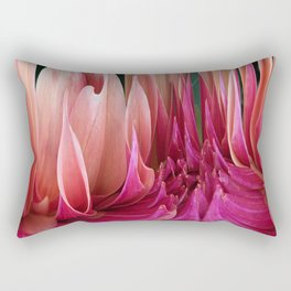439 - Abstract Dahlia Design Rectangular Pillow