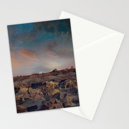Exploring the Bisti Badlands of New Mexico Stationery Cards