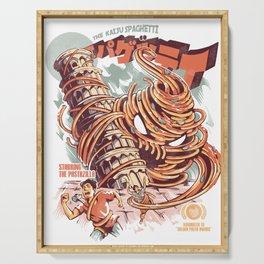 The Kaiju Spaghetti Serving Tray