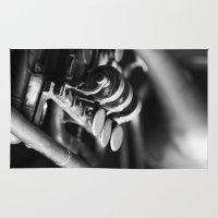 trumpet Area & Throw Rugs featuring Trumpet by Falko Follert Art-FF77