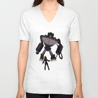 science V-neck T-shirts featuring Science! by Laknea