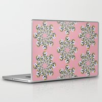 poodle Laptop & iPad Skins featuring POODLE MASK by Emse and Esme