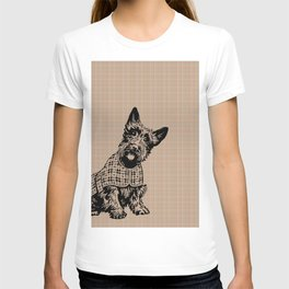 Very Cute Brown Dog Puppy Pet T-shirt