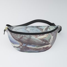 Vintage Print - The Uganda Protectorate (1902) - Eastern Plantain-Eater Fanny Pack