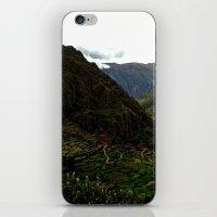 peru iPhone & iPod Skins featuring Rural Peru by miranda stein