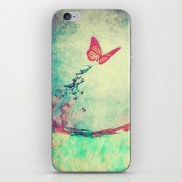Waterfly II iPhone Skin