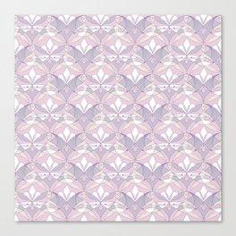 Interwoven XX - Orchid Canvas Print