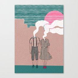 let's vaporize toghether Canvas Print