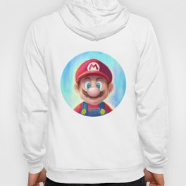 Mario Portrait Hoody