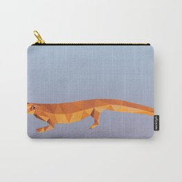 Geometric Newt Carry-All Pouch