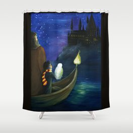 Harry's Journey Shower Curtain