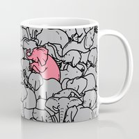 word Mugs featuring Word 2 the Herd v1 by Jonah Makes Artstuff