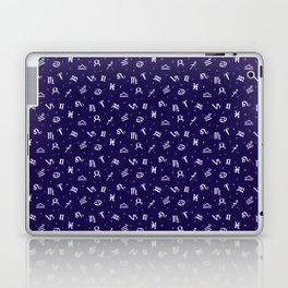 Symbols of Astrology Laptop & iPad Skin