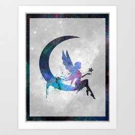 Galaxy Series (Fairy) Art Print