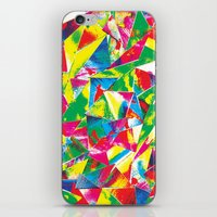 rave iPhone & iPod Skins featuring Rave Paint by Mariah Williams