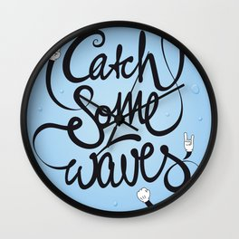 Go! Catch some waves! Wall Clock