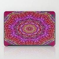 kaleidoscope iPad Cases featuring Kaleidoscope by Zenya Zenyaris