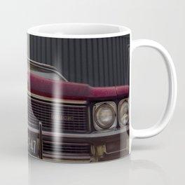 Chrome and Steel Coffee Mug