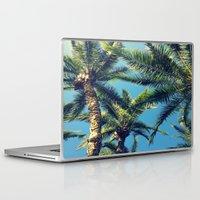 palm tree Laptop & iPad Skins featuring Palm Tree by Jillian Stanton