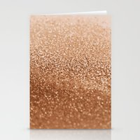 copper Stationery Cards featuring COPPER by Monika Strigel