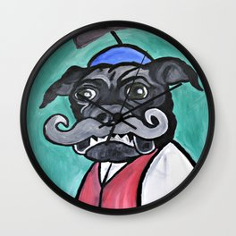 Biggie's Senior Picture Wall Clock