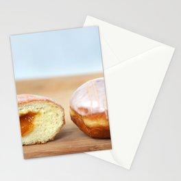 Jelly Donut Stationery Cards