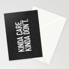 Kinda Care, Kinda Don't Stationery Cards