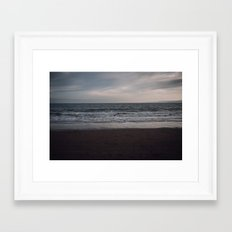 South Bay, Scarborough Framed Art Print