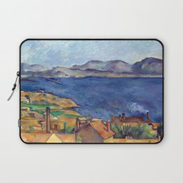 1885 - Paul Cezanne - The Bay of Marseilles, Seen from L'Estaque Laptop Sleeve