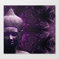meditation Canvas Prints featuring Meditation by JG-DESIGN