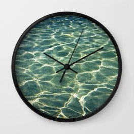 Water's background Wall Clock