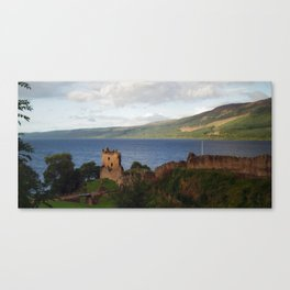 Urquhart Castle and Loch Ness 2 Canvas Print