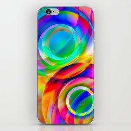 Circle Frenzy iPhone Skin