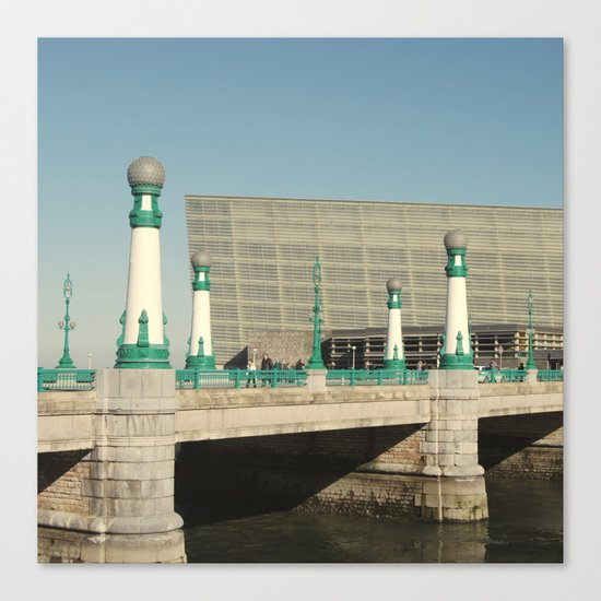 Kursaal Bridge Canvas Print