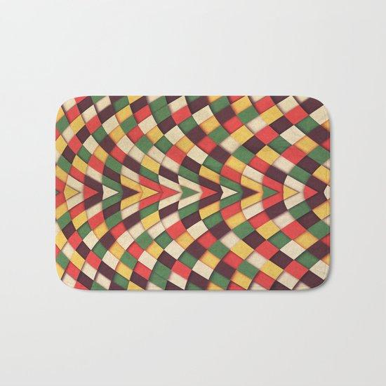 Rastafarian Tile Bath Mat