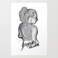 Perfect Illusion  Art Print
