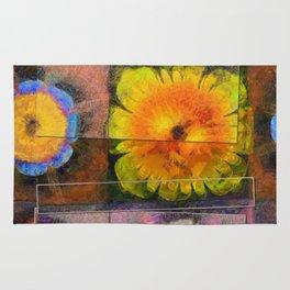 Prehepaticus Framework Flower  ID:16165-082221-45091 Rug