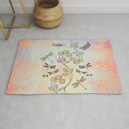 Dragonfly Dance Rug