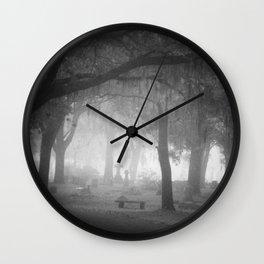 Foggy Daze Wall Clock