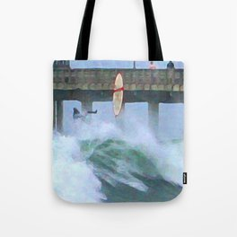 Wipeout! Tote Bag