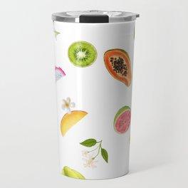 Tropical fruits summer mix Travel Mug