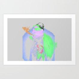 Anya Taylor Joy Art Print