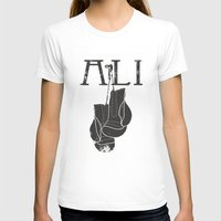 ali T-shirts featuring ALI by FLIPO