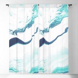 Sea Marble Blackout Curtain