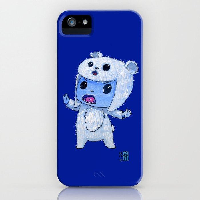 Moonkhin Iridum Snow iPhone Case