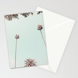 Beverly Hills Palms California Mint Stationery Cards